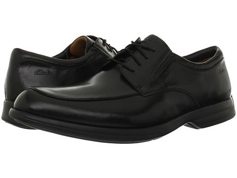 Pantofi Clarks - General Pace - Black Leather