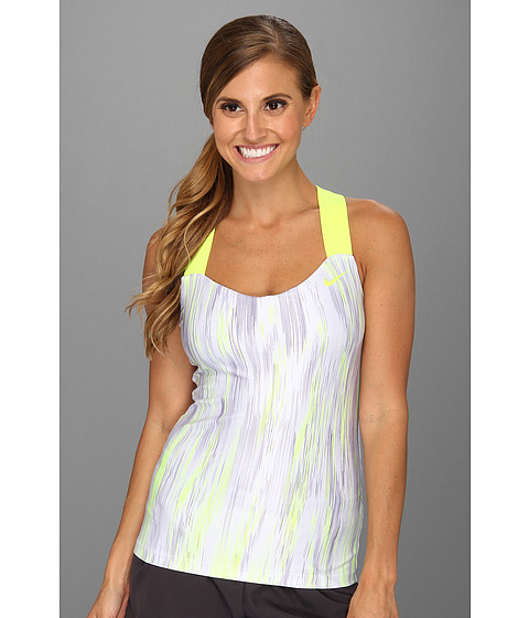Tricouri Nike - Printed Tank - Pure Violet/Volt