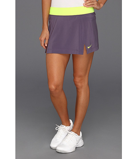 Fuste Nike - Nike Slam Skirt - Canyon Purple/Volt/Volt