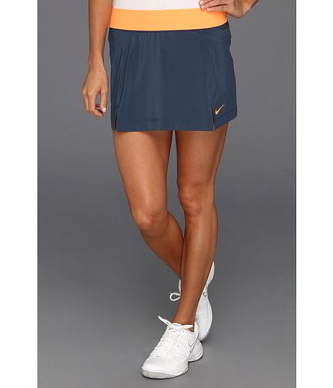 Fuste Nike - Nike Slam Skirt - Squadron Blue/Bright Citrus/Bright Citrus