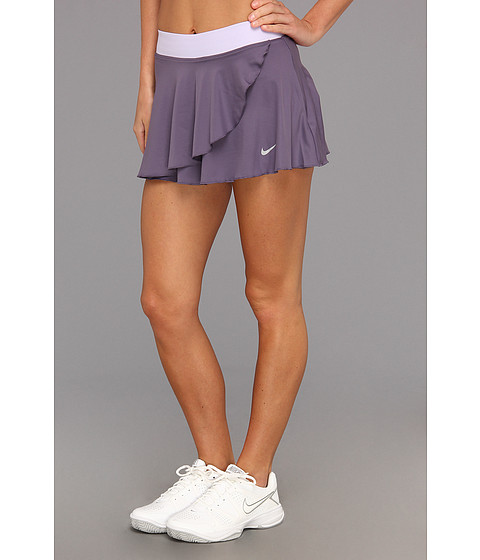 Fuste Nike - Ruffle Knit Skirt - Canyon Purple/Pure Violet/Matte Silver