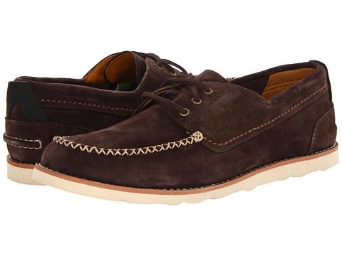Pantofi Timberland - Abington Boat Moc - Dark Brown