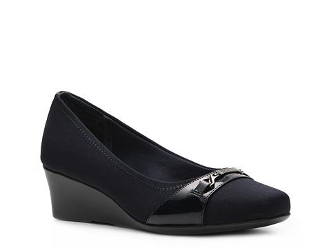 Pantofi Abella - Ginny Wedge Pump - Navy