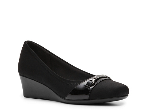 Pantofi Abella - Ginny Wedge Pump - Black
