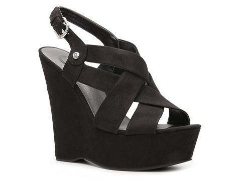 Sandale G by GUESS - Havana 2 Wedge Sandal - Black