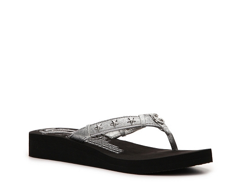 Sandale G by GUESS - Ademi Flip Flop - Silver