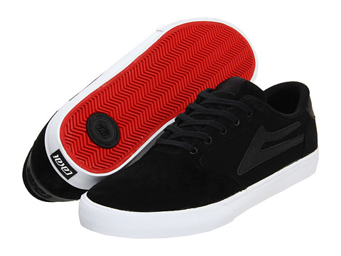 Adidasi Lakai - Pico - Black/Red Suede 2