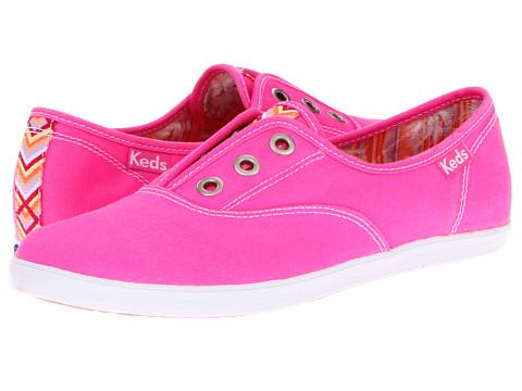 Balerini Keds - Rookie Laceless Neon - Neon Pink