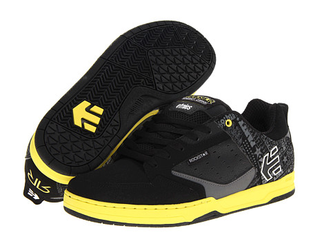 Adidasi etnies - Rockstar Cartel - Black/Yellow/Grey