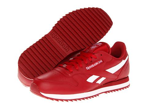 Adidasi Reebok - Classic Leather R13 Ripple - Flash Red/White