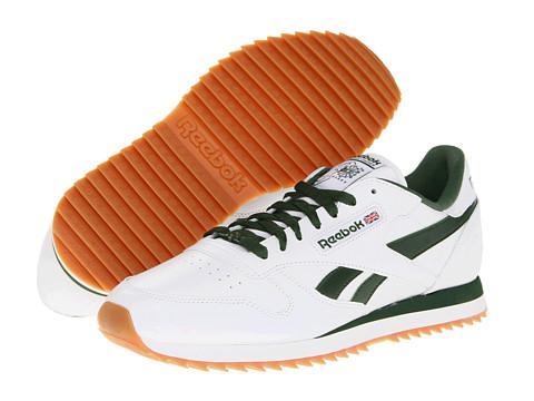 Adidasi Reebok - Classic Leather R13 Ripple - White/Racing Green/Gum