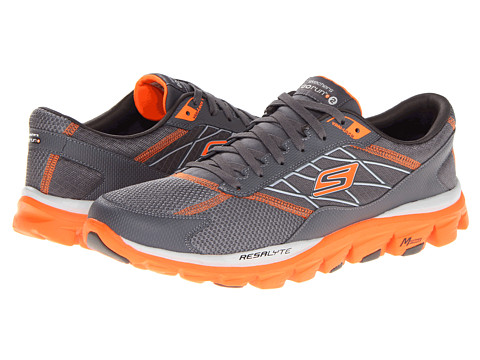 Adidasi SKECHERS - GOrun Ride 2 - Charcoal Orange