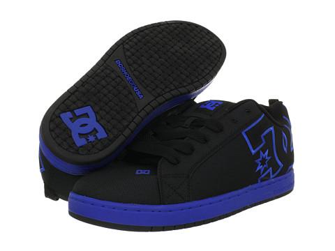 Adidasi DC - Court Graffik TX - Black/Nautical Blue