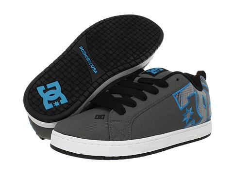 Adidasi DC - Court Graffik TX - Grey Plaid