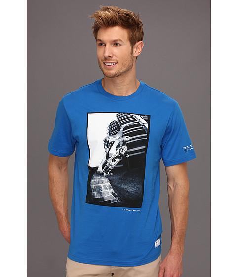 Tricouri adidas - Gonz In Paris Grant Brittain Tee - Bluebird