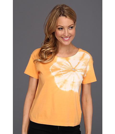 Bluze Lacoste - L!VE S/S Tie-Dye Boatneck Jersey Tee - Melba Peach Orange