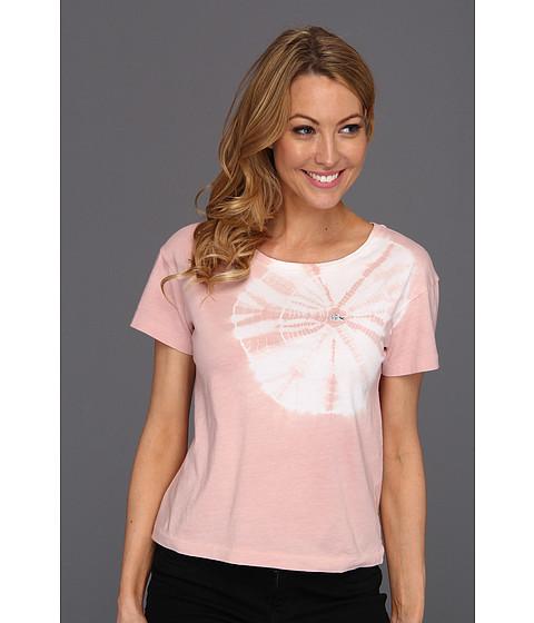 Bluze Lacoste - L!VE S/S Tie-Dye Boatneck Jersey Tee - Rosebud Pink