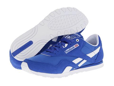 Adidasi Reebok - Classic Nylon Slim Monocolor - Tetra Blue/White/Steel