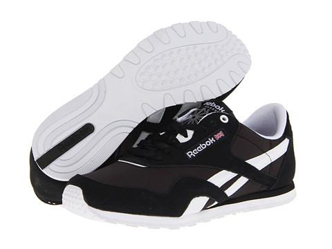 Adidasi Reebok - Classic Nylon Slim Monocolor - Black/White/Steel