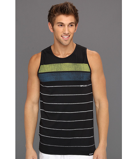 Tricouri Rip Curl - Stripe Tank Top Surf Shirt - Black