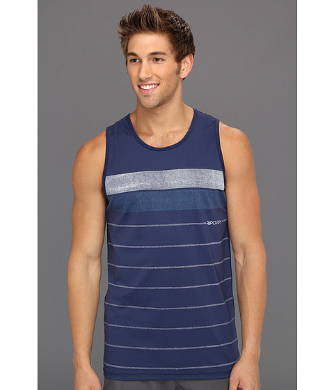 Tricouri Rip Curl - Stripe Tank Top Surf Shirt - Navy