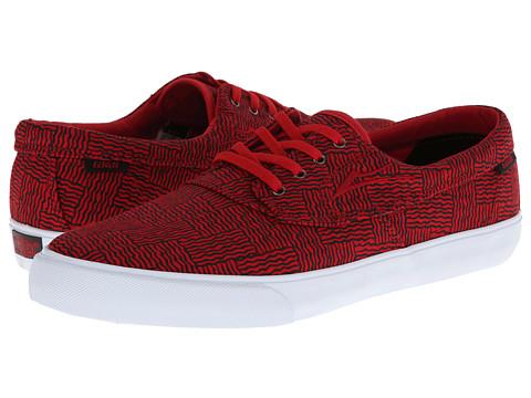 Adidasi Lakai - Camby - Red Canvas Abstract