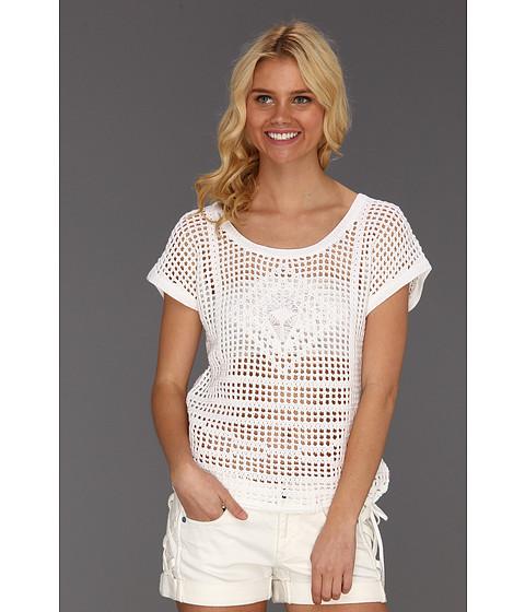 Tricouri Roxy - Cruiser Crocheted Sweater - Sea Salt
