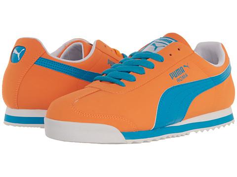 Adidasi PUMA - Roma SL NBK 2 - Fluro Orange/Fluo Blue