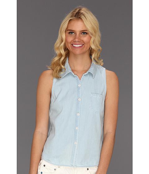 Bluze Roxy - Perfect Way Top - Washed Indigo