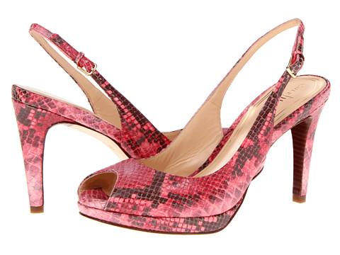 Pantofi Cole Haan - Chelsea OT Sling - Punch Pearlized Snake Print