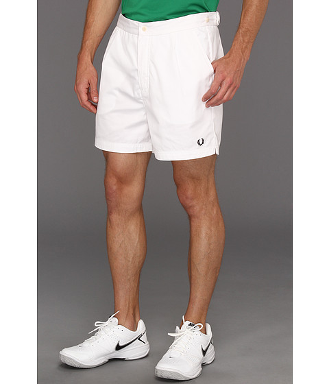 Pantaloni Fred Perry - Tailored Tennis Short - White