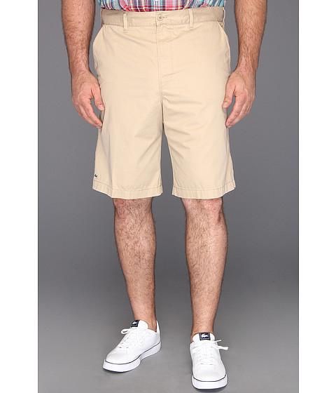 "Pantaloni Lacoste - \""Big\"" Gabardine Bermuda Short - Light Coffee Macaroon"