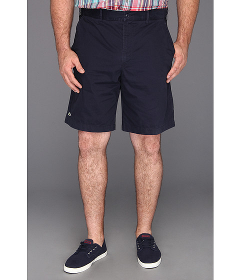"Pantaloni Lacoste - \""Tall\"" Gabardine Bermuda Short - Eclipse Blue"
