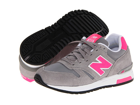 Adidasi New Balance - WL565 - Grey/Pink