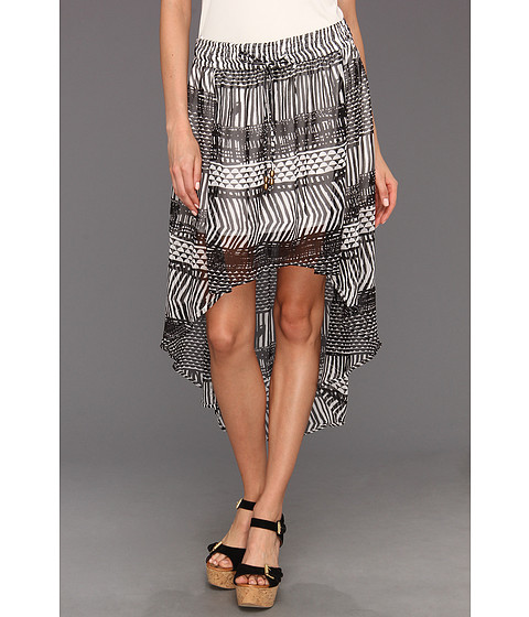 Fuste Roxy - Spring & Honey Skirt - True Black Print