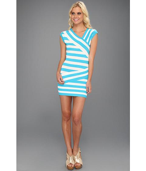 Rochii Type Z - Era Dress - Turquoise Combo