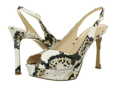 Pantofi Nine West - HellsFire - Natural Multi Synthetic