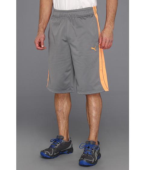 Pantaloni PUMA - Form Stripe Short - Quiet Shade/Fluorescent Orange