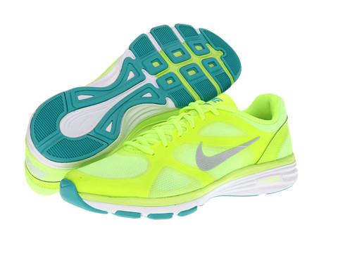 Adidasi Nike - Dual Fusion Trainer Vapor - Volt/Sport Turquoise/White/Metallic Platinum