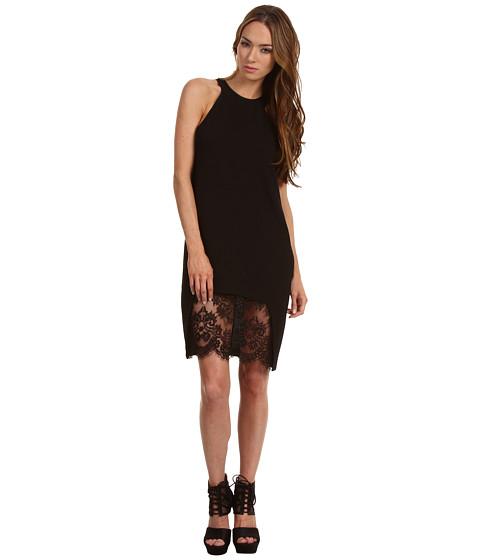 Rochii Just Cavalli - Tank Dress w/ Lace Panel - Black