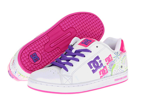 Adidasi DC - Pixie Fireworks W - White/Fluorescent/Pink