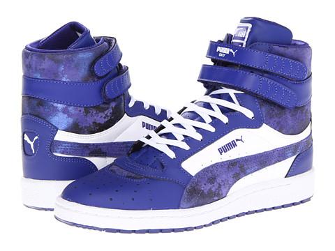 Adidasi PUMA - Sky II Hi Shimmer Wn\s - Clematis Blue/White