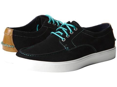 Pantofi Cole Haan - Bergen Moc Oxford - Black Suede