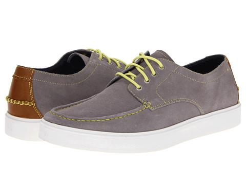 Pantofi Cole Haan - Bergen Moc Oxford - Ironstone Suede