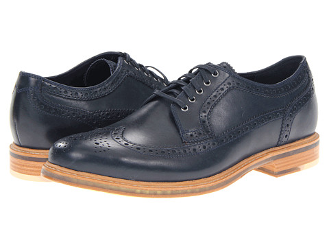 Pantofi Cole Haan - Cooper SQ Wingtip - Blazer Blue