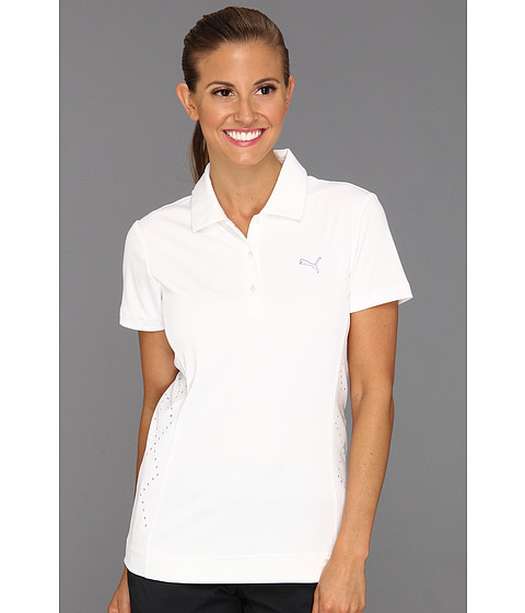 Tricouri PUMA - Golf Lazer Cut Polo Shirt \13 - White