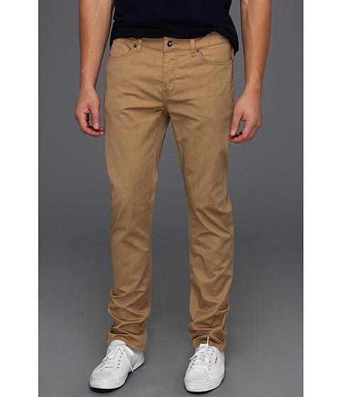 Pantaloni KR3W - Slim 5-Pocket Twill in Gold Heather - Gold Heather