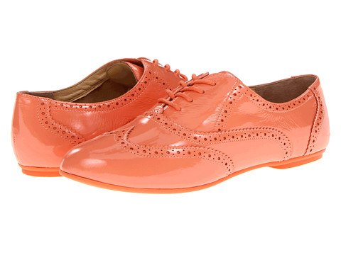 Pantofi Cole Haan - Tompkins Oxford - Creamsicle Patent
