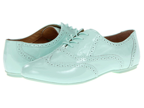 Pantofi Cole Haan - Tompkins Oxford - Fresh Mint Patent