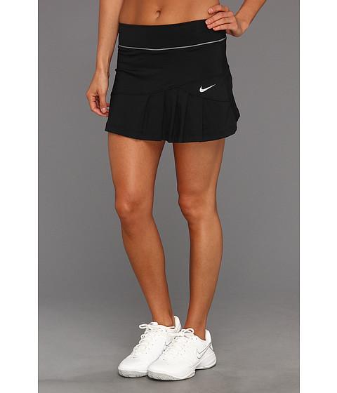Fuste Nike - Pleated Knit Skort - Black/Cool Grey/Matte Silver